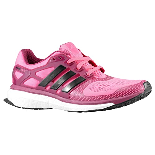 the latest 7c095 11fae adidas Energy Boost 2 ESM Womens Running Shoe 10 Pink-Black-Tribe Berry