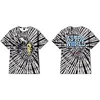 Travis Scott Astroworld-t-shirt, Tie Dye handicrafts kreativt tema graffiti, polyester unisex kortärmad sommarmode t…