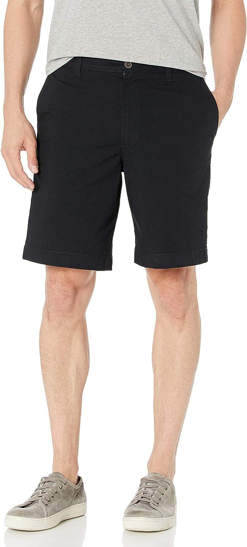 "Brand -  Essentials Men's Regular-fit Lightweight Stretch 9"" Short: Clothing"