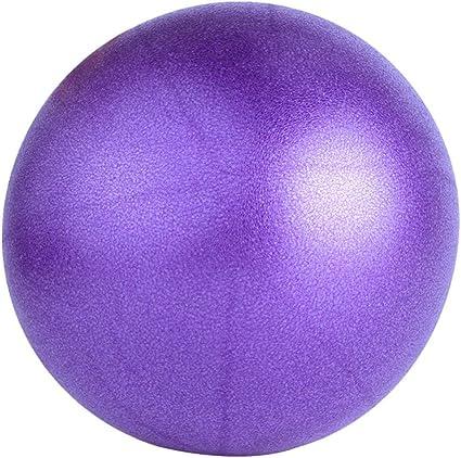 Garciasia Tama/ño peque/ño Yoga Fitness Ball Profesional Antideslizante Yoga Balls Balance Sport Fitball Proof Ball para el Ejercicio en casa