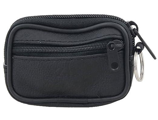 date de sortie prix bas super qualité Sourcingmap Faux cuir noir 2 poche-clé Bourse de sac porte ...