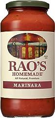 Rao's Homemade Marinara Sauce, 24 oz, All Purpose Tomato Sauce, Pasta Sauce, Carb Conscious, Keto Friendly, All Natural, Prem