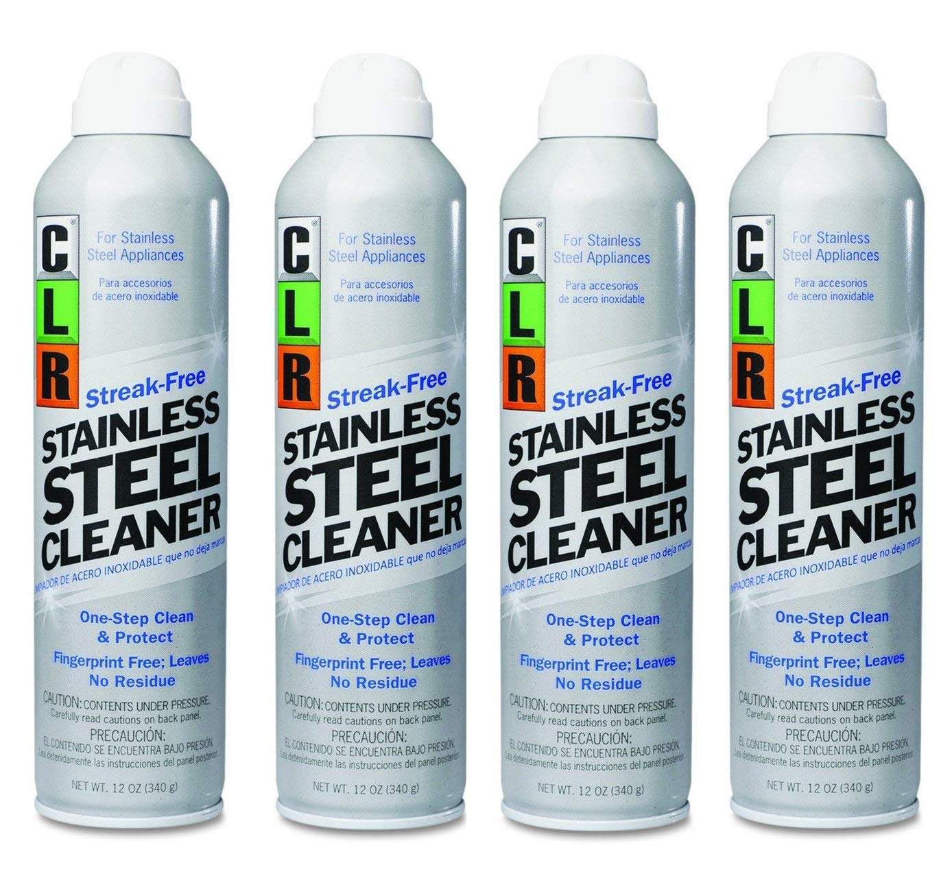 Amazon.com: CLR CSS-12 Stainless Steel Cleaner, Citrus, 12 oz ...