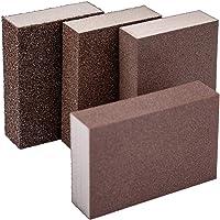 KINBOM 4 piezas Esponja de lija húmeda