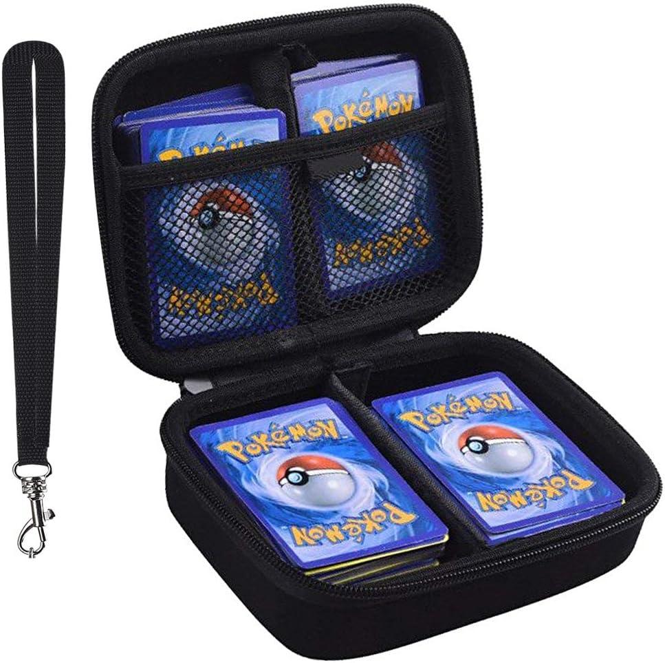 ANTS Estuche rígido Tarjetas comerciales Pokemon. Se Adapta a 400 Tarjetas. Incluye 2 separadores extraíbles: Amazon.es: Juguetes y juegos