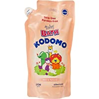 Kodomo Baby Bath Refill, Mild and Natural, 650ml