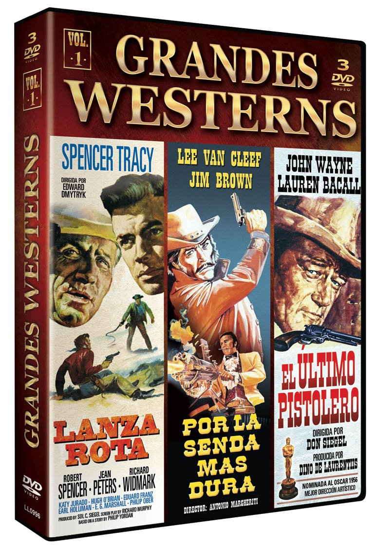 Pack Grandes Westerns - Vol. 1 [DVD]: Amazon.es: Spencer Tracy ...