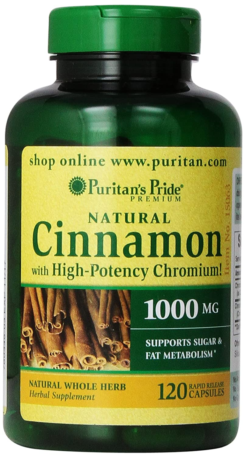 Buy herbal supplements 1000 count capsules - Amazon Com Puritan S Pride Cinnamon Capsules With High Potency Chromium 1000 Mg 120 Count Health Personal Care