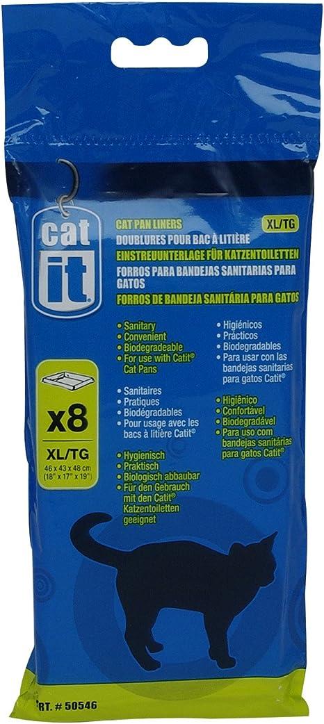 Catit - Bandeja de Arena para Gatos, Extra Grande, Paquete de 8 ...