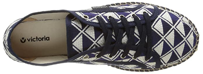 Amazon.com: Victoria Basket Geometrico Plataforma Yute, Unisex Adults Trainers: Shoes