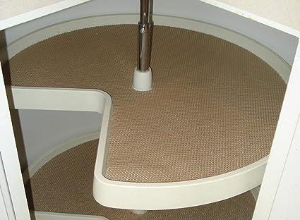 amazon com lazy susan shelf liner shelf paper rh amazon com
