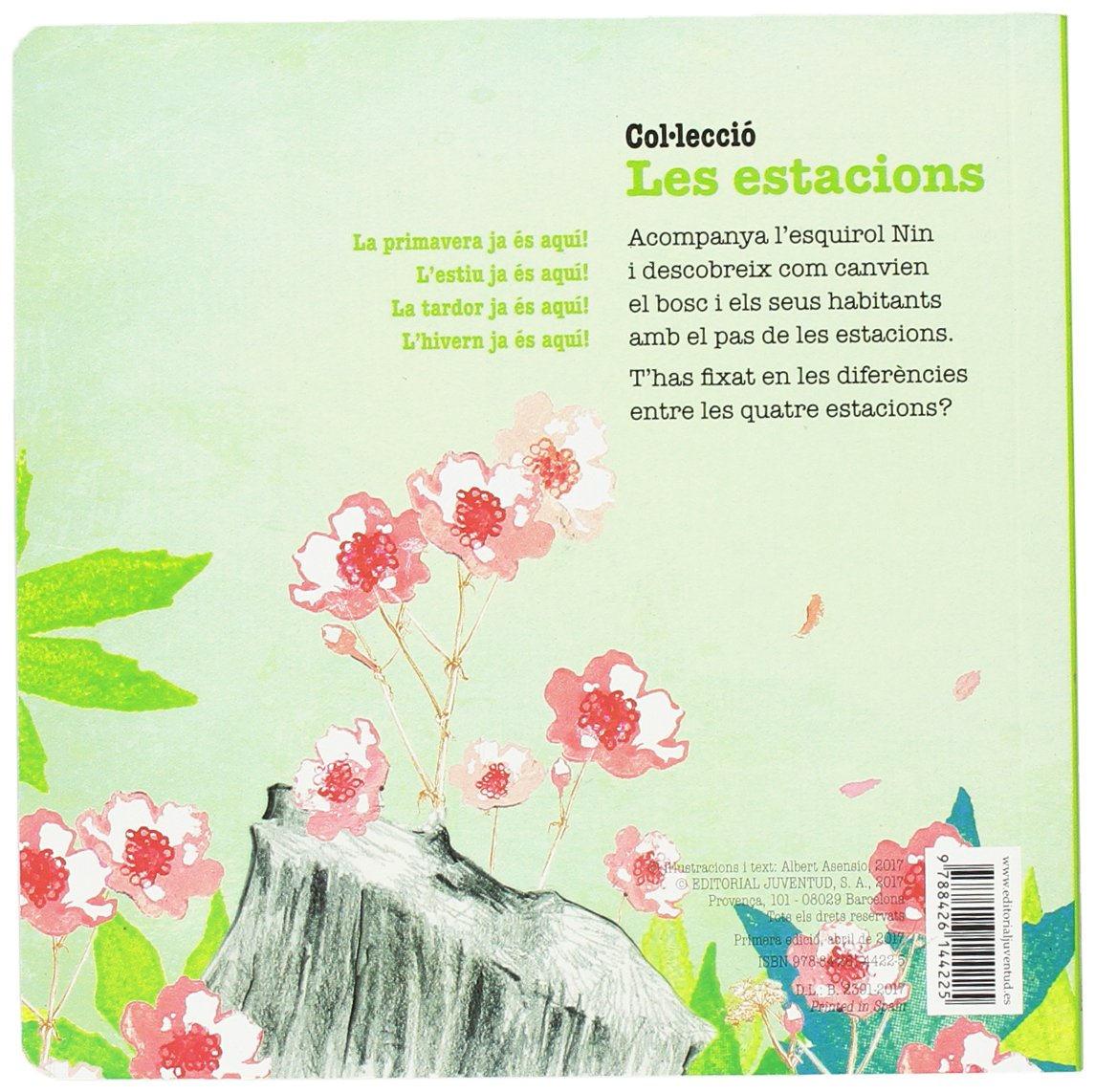 fd9167635e78 La primavera ja és aquí! Mis Primeros Libros de Cartón  Amazon.es  Albert  Asensio Navarro  Libros