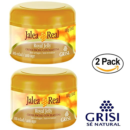 Amazon.com: Jalea Real Anti Aging Anti Wrinkles Moisturizing Cream with Elastin 3.8 Oz. 2-PACK: Beauty