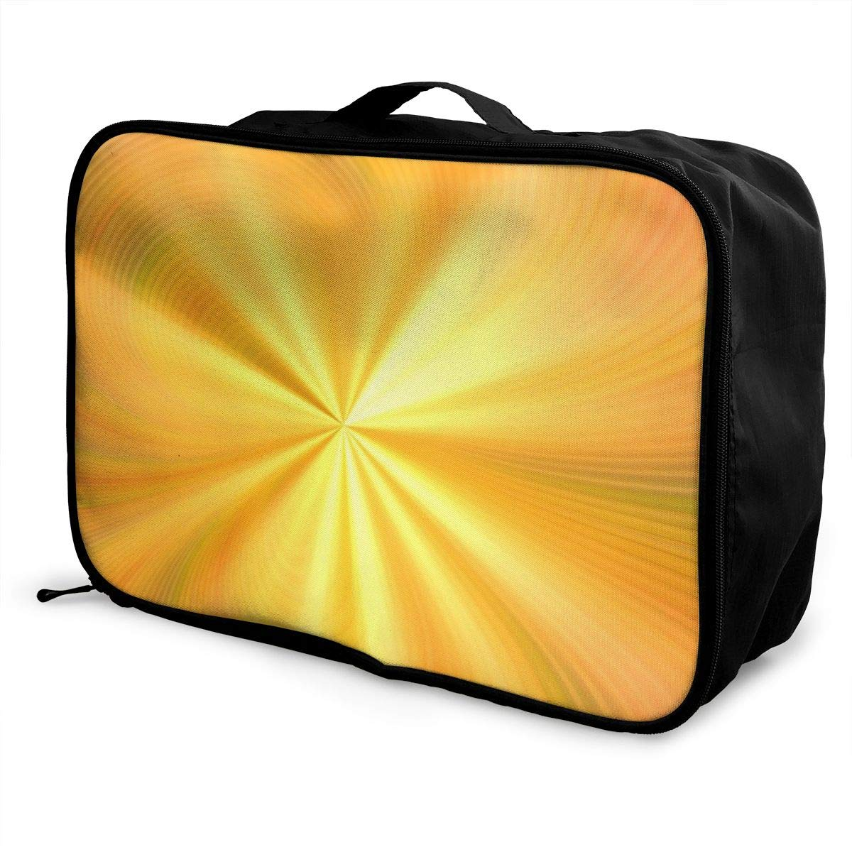Blurred Bright Explosive Light Travel Lightweight Waterproof Foldable Storage Carry Luggage Large Capacity Portable Luggage Bag Duffel Bag