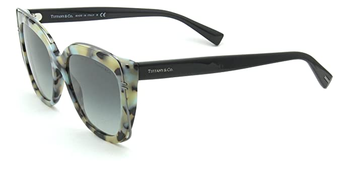 6c22a3d6f4 Image Unavailable. Image not available for. Colour  Tiffany   Co. TF 4148  Women Cat-Eye Sunglasses Gradient Grey 82113C