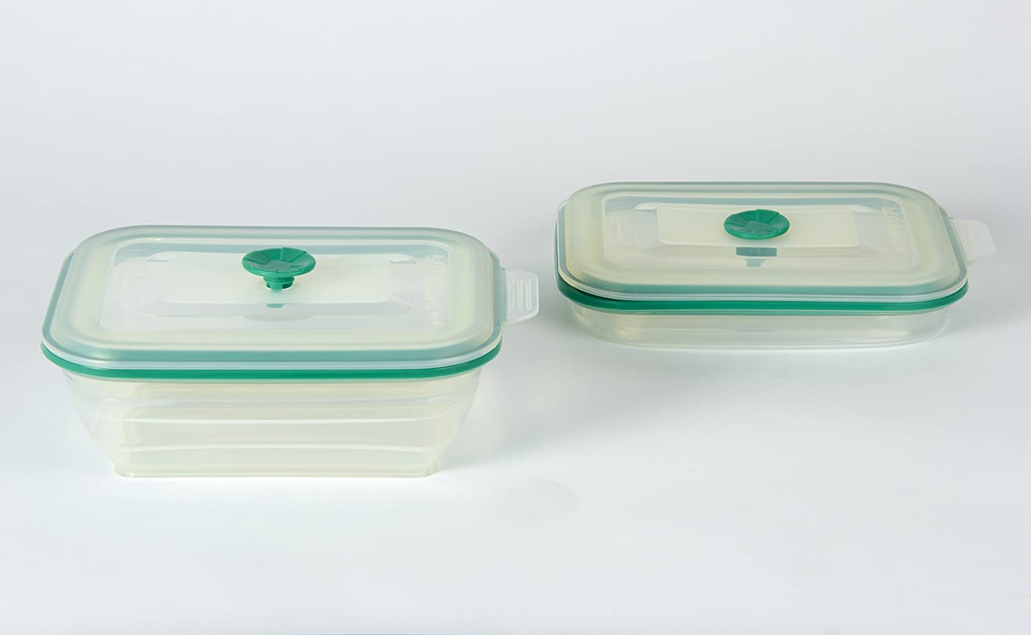 Collapsible Rectangular Food Container - 3 Cup