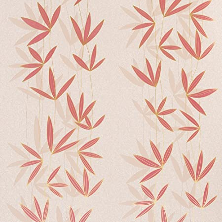 Graham And Brown Floral Flat Patterned Shadow Design Kitchen Living Room Wallpaper Roll Beige