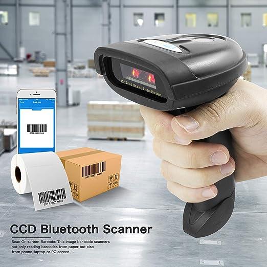 Amazon Com Netum Bluetooth Ccd Barcode Scanner Wireless Barcode