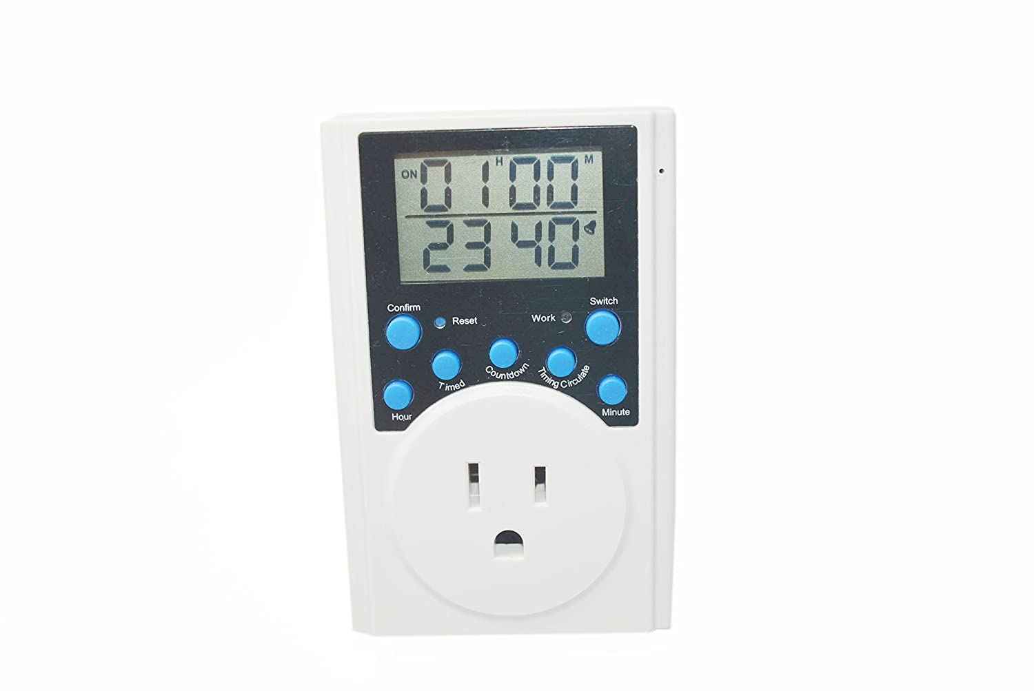 Multi Function Programmable Timer Outlet Count Down On And Off Digital Circuit Using Pic Microcontroller Infinite Loop In Second Indoor Outdoor Min Setting 1
