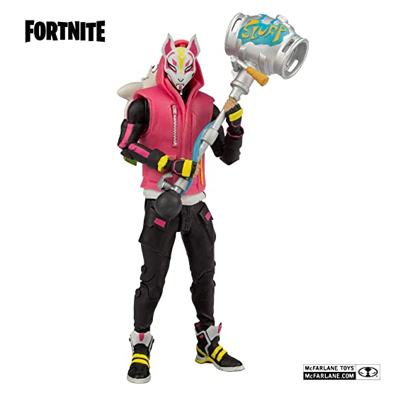 HEO GMBH- Fortnite Figura articulada Drift, Multicolor (MC Farlane ...