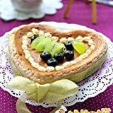 Webake 4-Pack Tart Pans with Removable Bottom Heart Shaped Quiche Pans Pie Pans