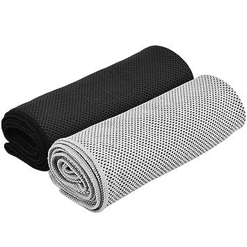 WINOMO toalla de deporte toalla de refrigeración para viaje Bolos Yoga Camping Deportes de Plein Air