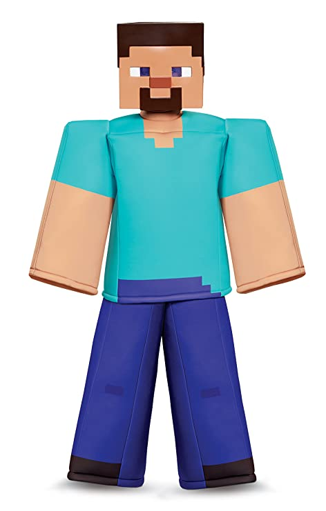 Steve Prestige Minecraft Costume Multicolor Medium 7 8