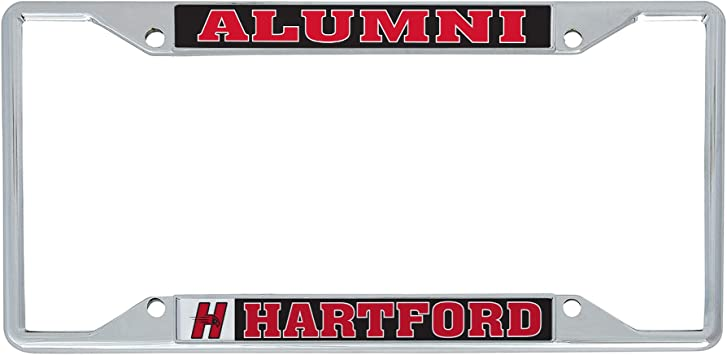 Desert Cactus Quincy University Hawks NCAA Metal License Plate Frame for Front or Back of Car Officially Licensed Alumni