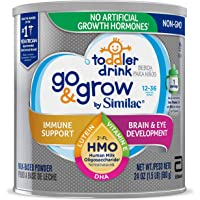 Go & Grow by Similac Toddler Drink with 2'-FL HMO for Immune Support, with 25 Key Nutrients to Help Balance Toddler…