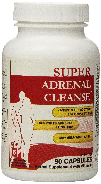 Health Plus Cleanse Adrenal 90 Cap