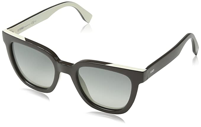 Fendi FF 0121/S VK MG4 Gafas de Sol, Gris Cream/Grey SF, 51 ...