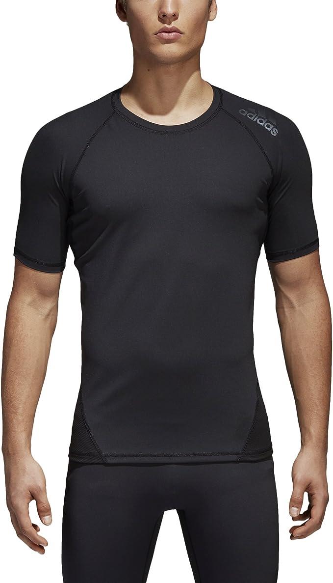 Amazon.com: adidas Men's Training Alphaskin Sport Short Sleeve Tee ...