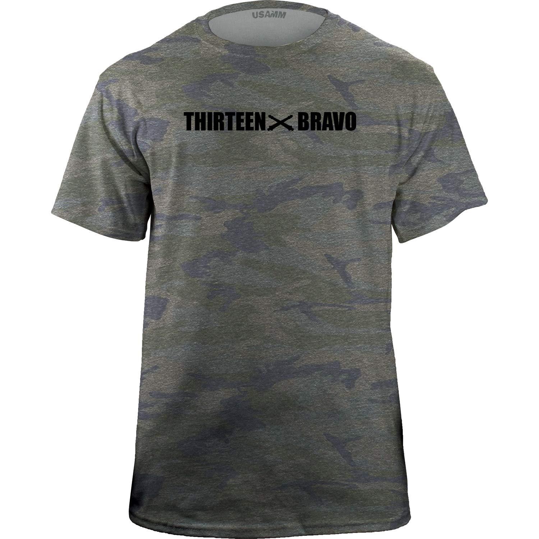 092ef9ae8 Army MOS Cannon Crewmember 13 Bravo 13B Veteran T-Shirt