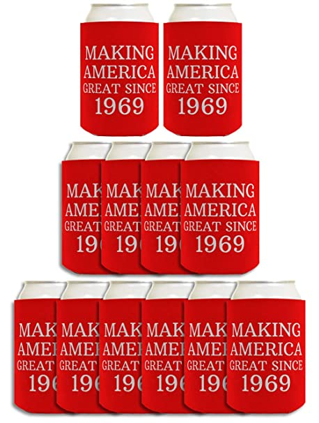 50th Birthday Gift Ideas Making America Great Since 1969 Decorations Gifts For
