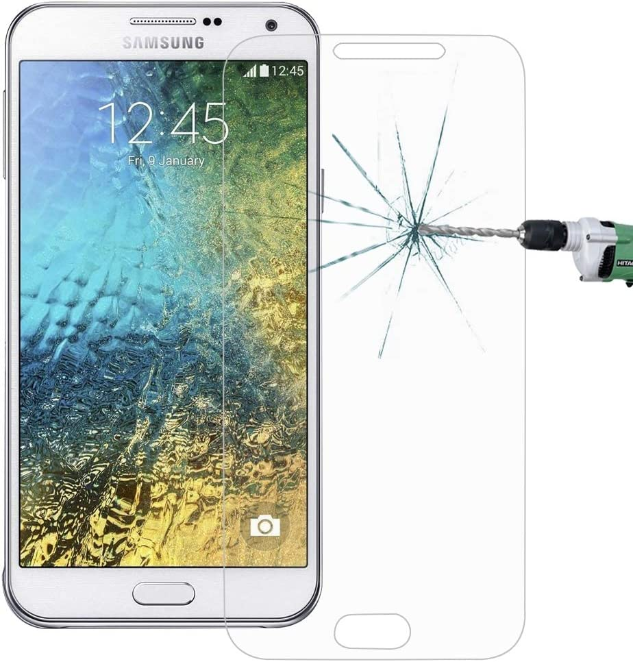 Screen Protector Protective 100 PCS for Galaxy E7 E700 0.26mm 9H Surface Hardness 2.5D Explosion-Proof Tempered Glass Screen Film Glass Film