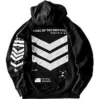 Fabric of the Universe Techwear Graphic Japanese Streetwear Cyberpunk Fashion Hoodie Hooded Pullover Sweatshirt