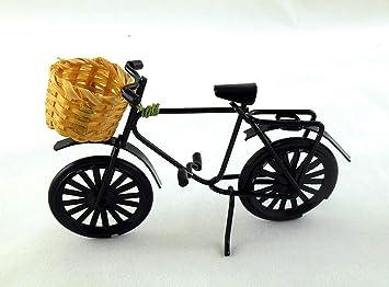 Fahrrad mit Korb Puppenm/öbel Puppenstuben 1:12