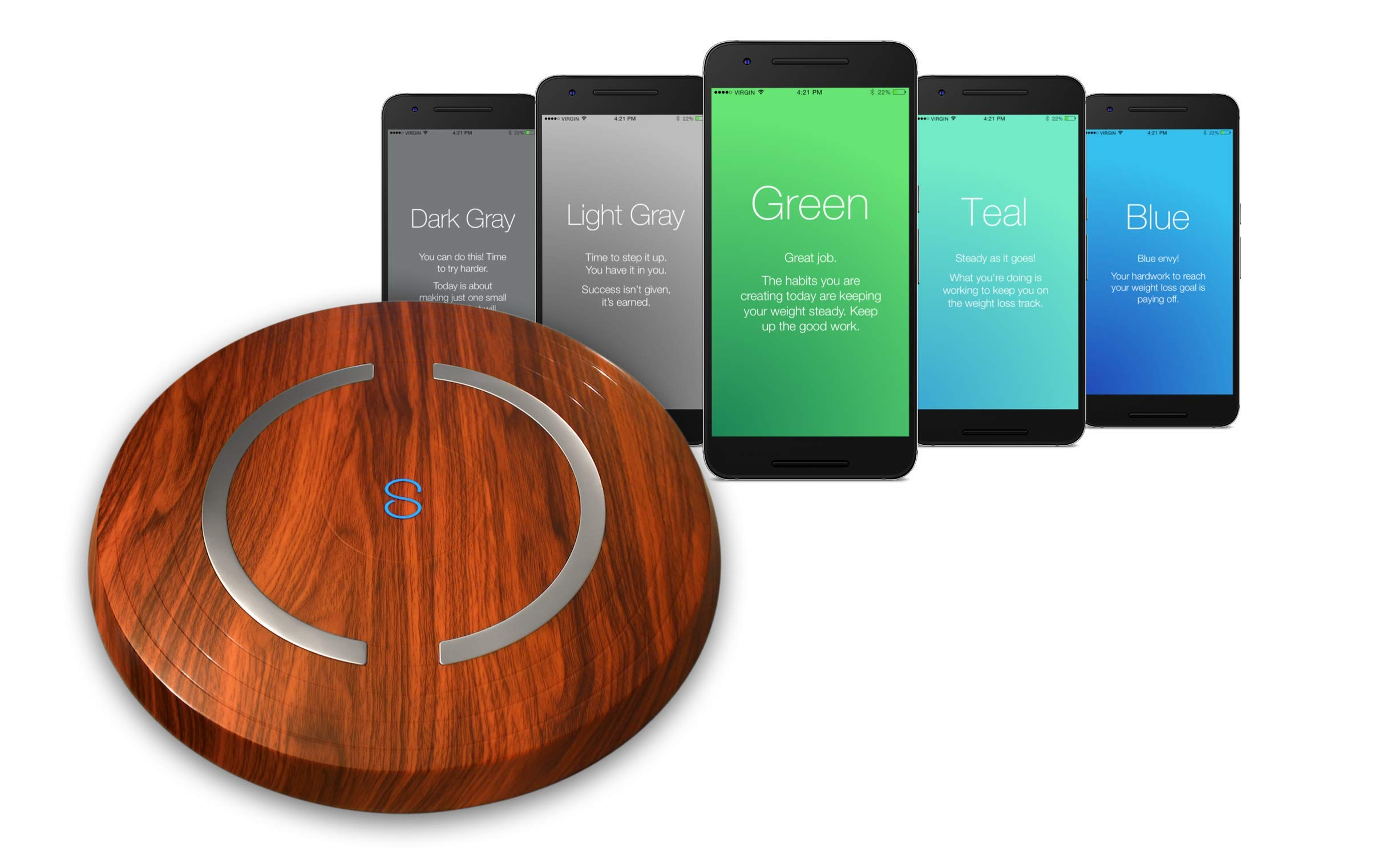 Shapa Smart Scale and App (Cherry) by Shapa
