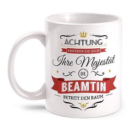 Majestät Hebamme Kissen 40x40 cm Spruch Geschenk Idee Entbindungspflegerin Beruf