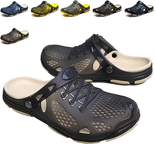 Men/'s Slippers Sandals Breathable Beach Shoes  Quick Drying Walking Slippers