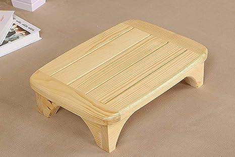 Qixian scaletta in legno massello realizzata a mano