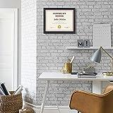 PETAFLOP 8.5x11 Picture Frames 4pcs Black Diploma