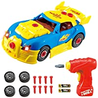 Think Gizmos Take Apart Toy Racing Car - Construction Toy Kit for Boys and Girls...