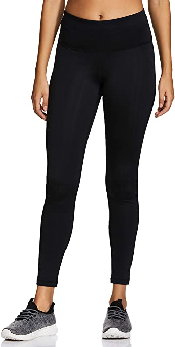 New Under Armour Girl/'s ColdGear Leggings Fitness Fit Size X-Large Black