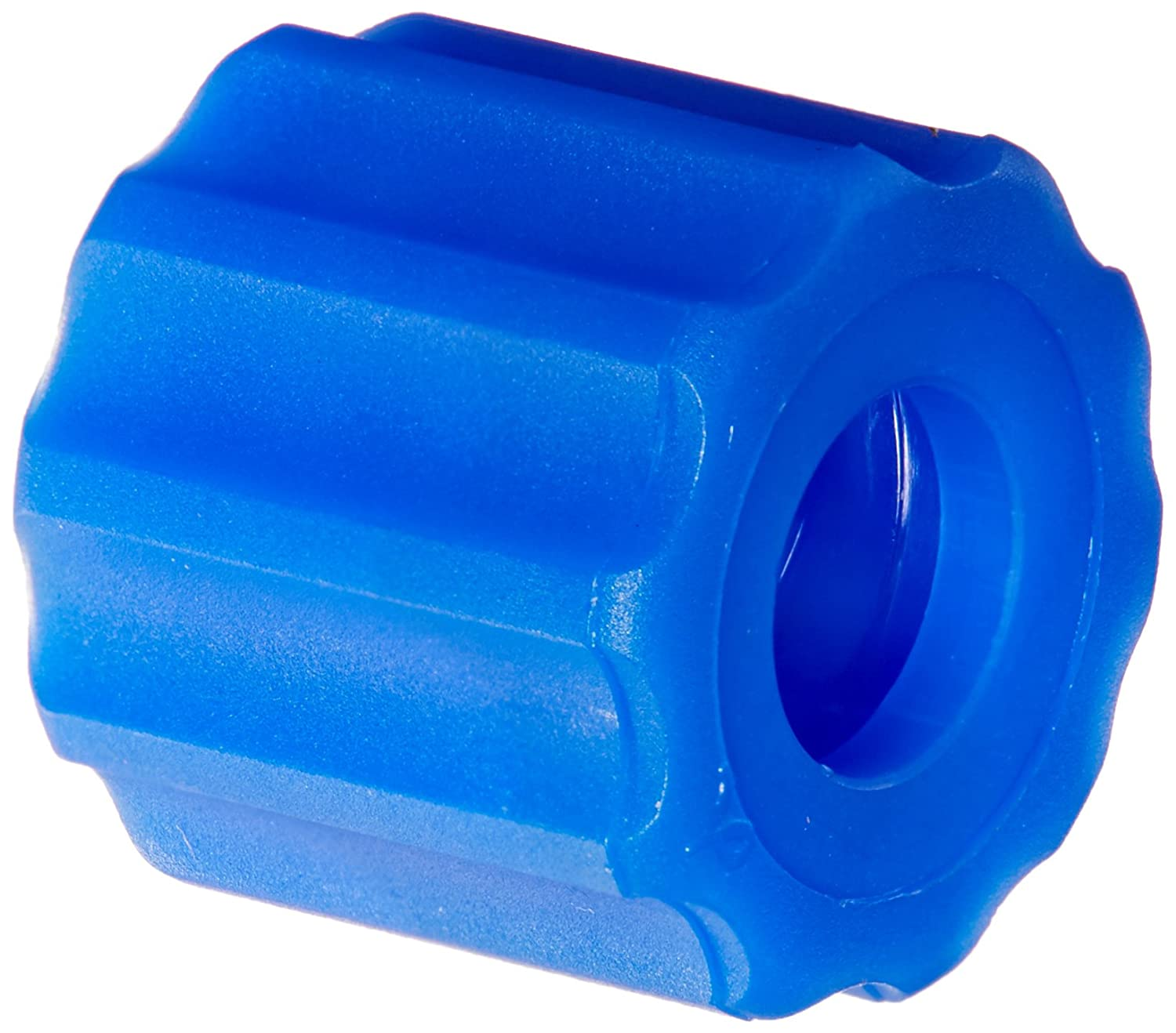 Blue Nylon For use with BDMMTL pack of  25 Value Plastic RMLLR-5 Rotating Male Luer Lock Ring