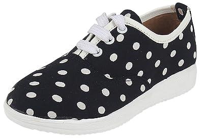 en pies imágenes de moda mejor valorada salida para la venta D'chica Cotton Soft Sole & Nice Black Color Casual Sneakers ...