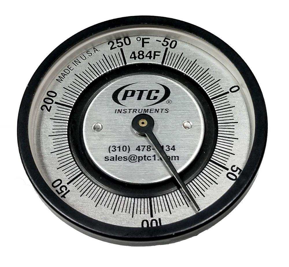 PTC 484FS Small Clip Pipe Thermometer -50° to 250°F