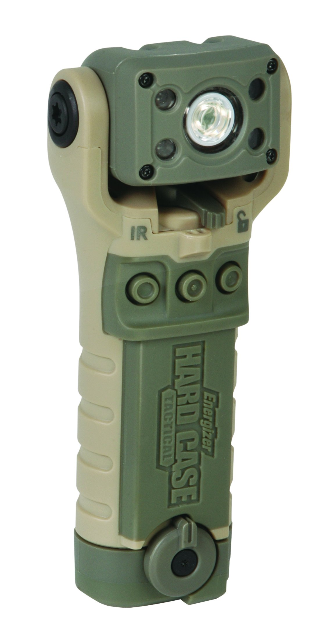 Energizer HardCase Tactical Bravo 2AA LED Swivel Flashlight by Energizer HardCase Tactical (Image #1)