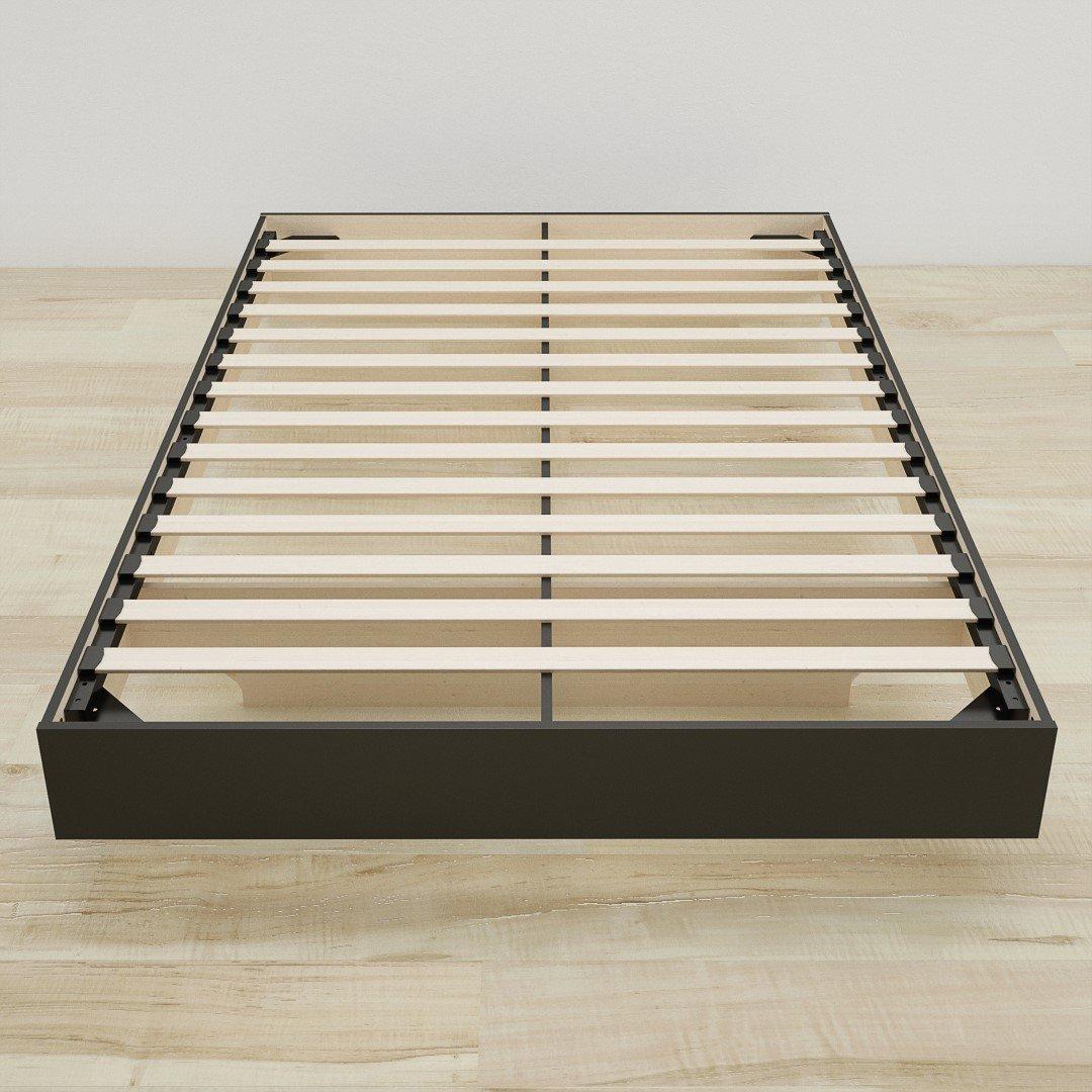 Nexera Platform Bed, Black, Queen