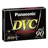 Panasonic AY-DVM60YE Mini-DV Digitale Videokassette (60min, Super Linear Plus)